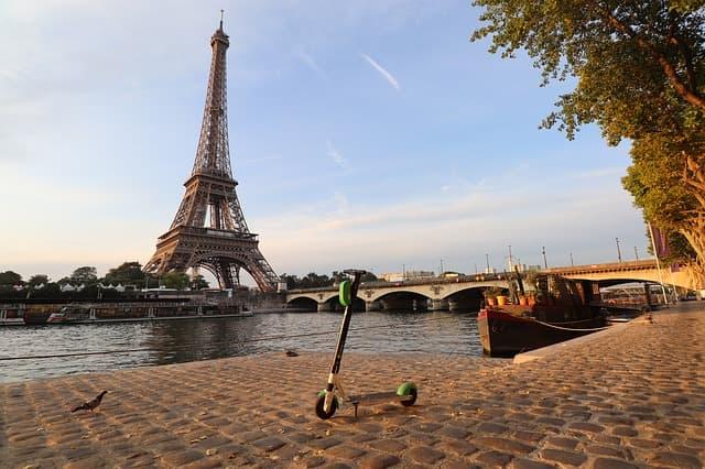 trotinette à Paris